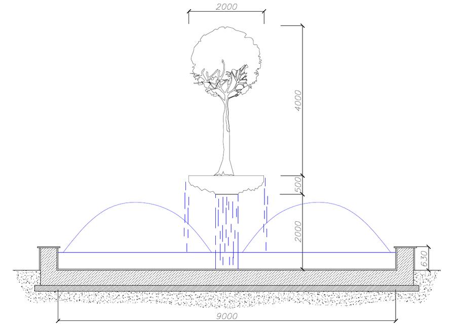 киноаппаратура фонтан картинка с размерами потерей сына
